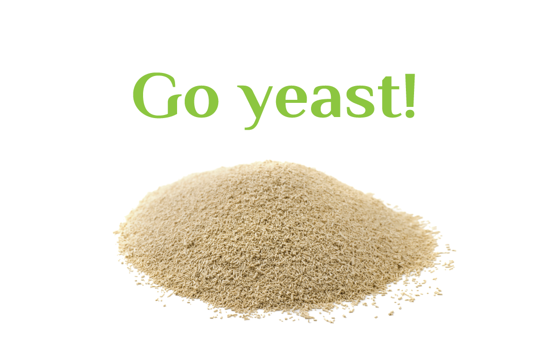 Activate skin's immune system with yeast